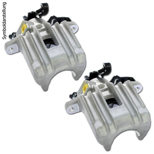 Beläge 2 Bremssättel hinten für Ford C-Max 2 Focus 2 2 Bremsscheiben Volvo