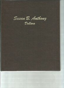 Susan B Anthony set in a 2 Page Dansco Book  13 Coins