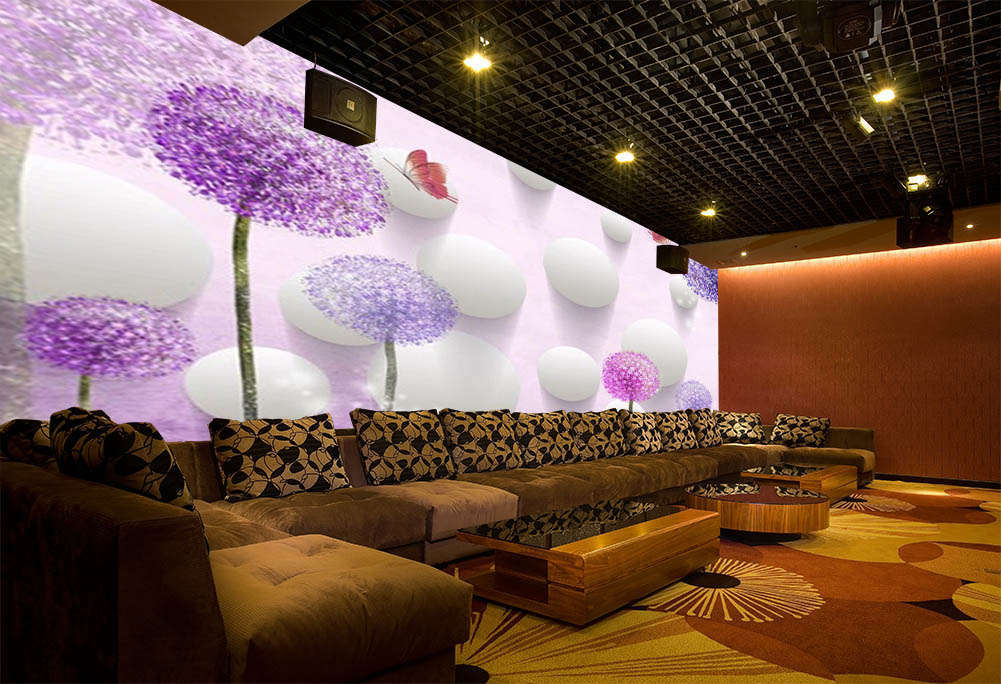 The Purple Dream 3D Full Wall Mural Photo Wallpaper Wallpaper Wallpaper Printing Home Kids Decor ef1490
