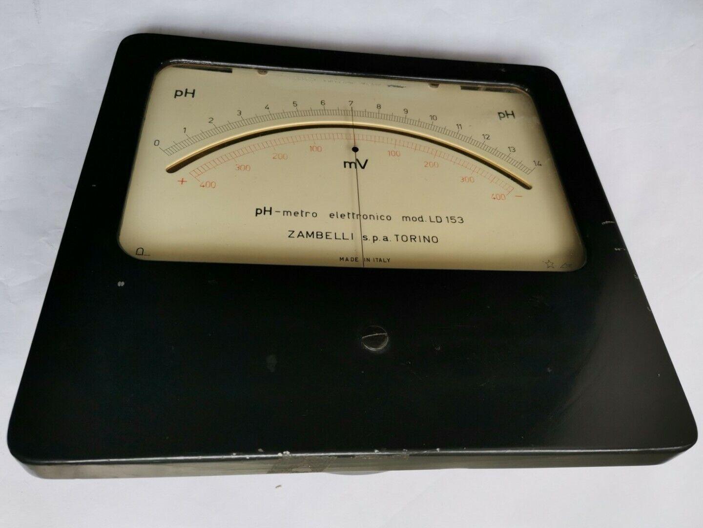 PIACCAMETRO elettronico modello LD 153 ZAMBELLI