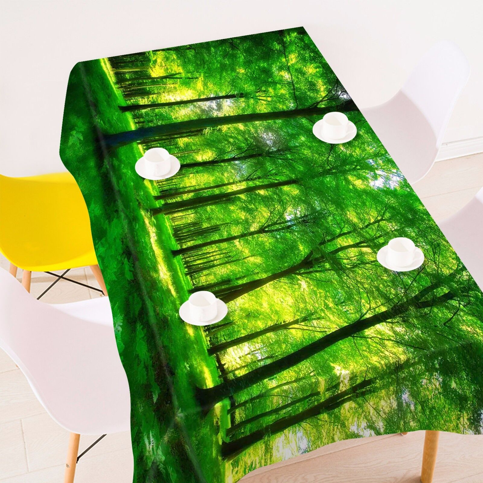 3D Forest 910 Tablecloth Table Cover Cloth Birthday Party Event AJ WALLPAPER CA