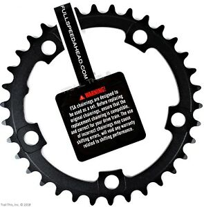 FSA-Pro-Road-Bike-Inner-Chainring-34T-110mm-N10-11-10-11-Speed-fits-Shimano-SRAM