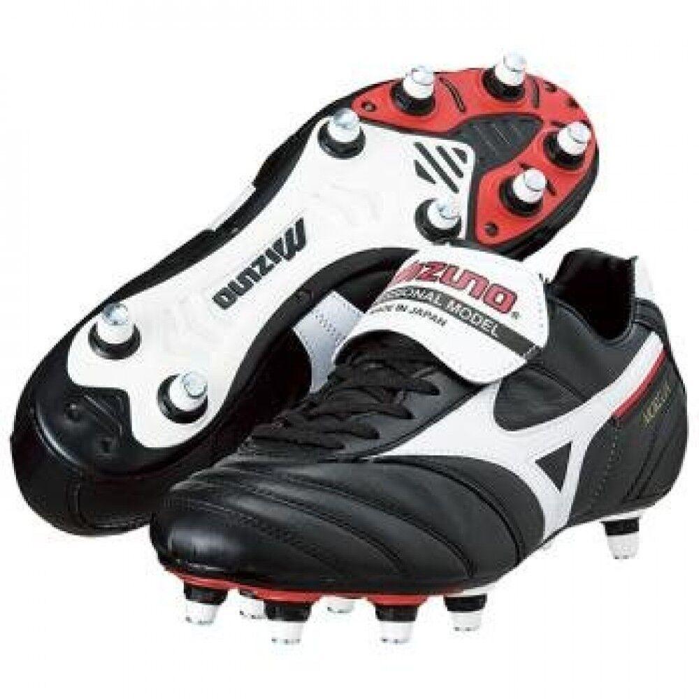 Zapatos de fútbol de Mizuno Spike Mizuno Morelia Ⅱ Sistema Integral blancoo X Negro 12KS203