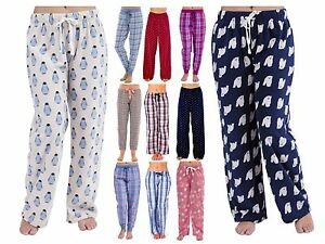 Womens//Ladies Alarm Clock//Beauty Sleep Design Fleece Pyjama Bottoms Pink UK 12-14 Waist 31-33inch Lounge Pants