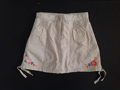 NWT Gymboree Beach Shack Blue Tiered Cotton Skirt Sz 4 5 or 7