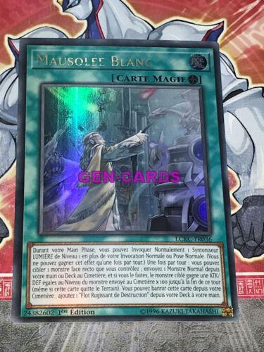 Carte Yu Gi Oh MAUSOLEE BLANC LCKC-FR036