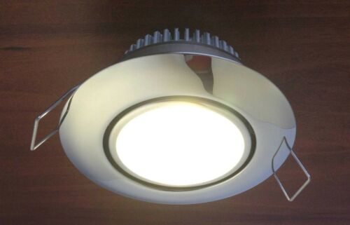 MARINE BOAT LED STAINLESS STEEL CEILING LIGHT ODM CLIP ON INSTALLATION