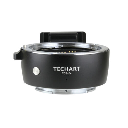 TECHART TCS-04 Auto Focus Adapter Canon EOS Lens to Sony NEX A9 a7R3 a7R2 a7M3