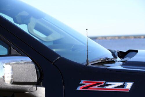 "7/"" Black Spring Stainless AM//FM Antenna Mast Fits 10-19 Dodge Ram Truck 3500"