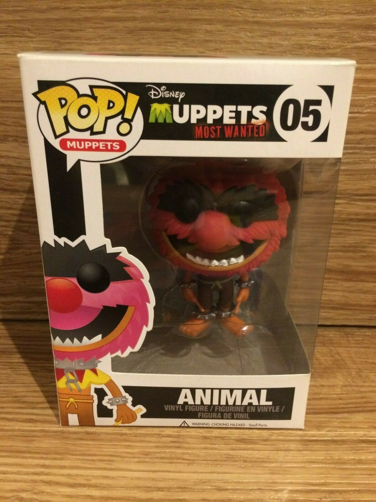 divertiessitoko Pop  05 Animal The Muppets Most Wanted Bre nuovo