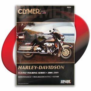 2006-2009-Harley-Davidson-FLHX-Street-Glide-Repair-Manual-Clymer-M252-Service