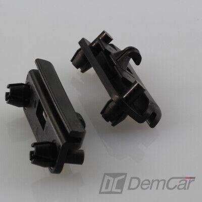 10x Bmw 3er E30 E32 E34 Parentesi Front Spoiler 51711945568 Fissaggio-