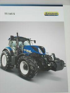 2659 NEW HOLLAND T7.165 S Traktoren Prospekt von 12//2016