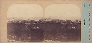 Italia Loano Foto Stereo Po' di Tempo E Tournier Vintage Albumina Ca 1857