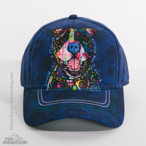 The Mountain Dean Russo Kisser Pitbull Animal Baseball Cap Strapback Hat 943918