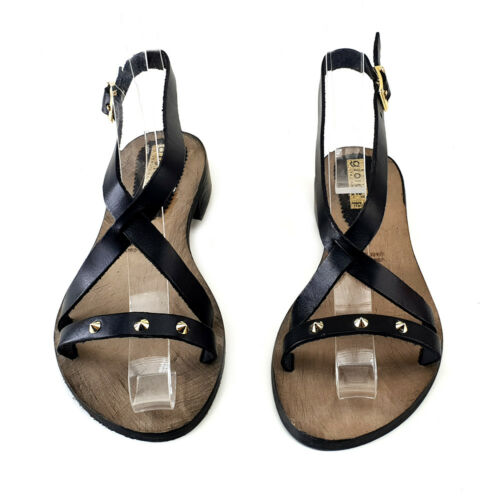 Sandal women's BLACK Made in Italy - PTS02 black