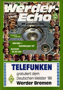 BL-87-88-SV-Werder-Bremen-Hamburger-SV-14-05-1988-Deutscher-Fussballmeister