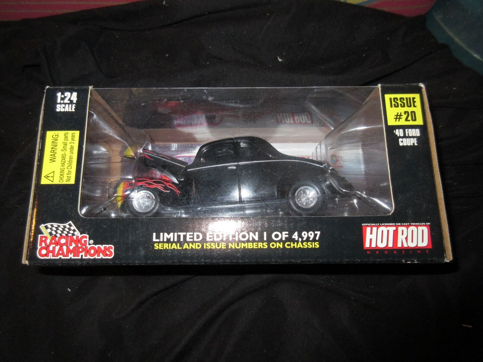 RACING CHAMPIONS HOT ROD 40 FORD COUPE LIMITED EDTION 1 OF 4997 1 24