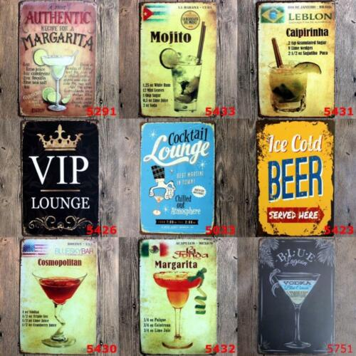 Metal Tin Funny Warning Signs Pub Bar Home Wall Store Home Decor Ccocktail Beer