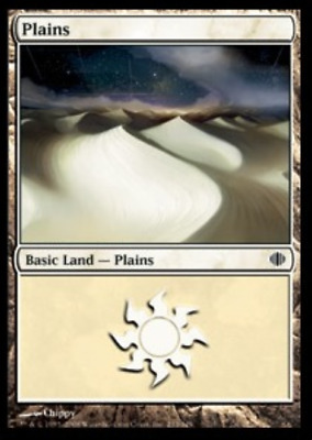 FREE US SHIPPING! MTG X4: Plains 233 Light Play C Shards of Alara