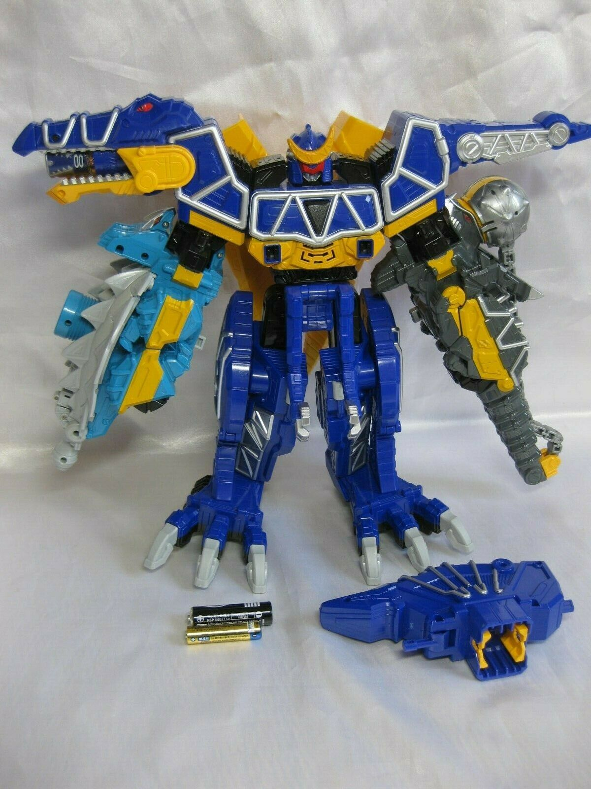 POWER RANGERS Dino Charge Kyoryuger Spino Zord tobaspino Spino charge Megazord