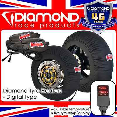 DIAMOND RACE PRODUCTS - NEW! DIGITAL SPEC TYRE WARMERS TO FIT 1000cc - 200 REAR