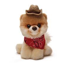 GUND Itty Bitty Boo Wearing Bandana and Cowboy Hat Stuffed Plush Toy 4040350