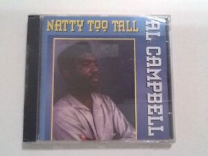 Al-Campbell-034-Natty-Too-Tall-034-CD-Live-amp-Learn-Records-1994-Roots-Reggae-Sealed
