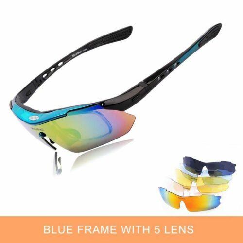 Polarized Cycling Glasses MTB Goggles Road Sport Eyewear Bike Fishing Sunglasses