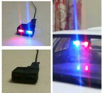 1/18 - 1/24 Dash Light Police Models Diecast Ut Led Lights Light Bar 9c1 Lapd