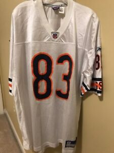 VINTAGE DAVID TERRELL CHICAGO BEARS JERSEY SIZE XL WHITE ROAD NFL ... 3a1abfb53