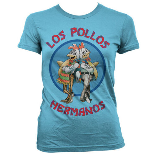 Officially Licensed Breaking Bad Los Pollos Hermanos Women T-Shirt S-XXL Sizes