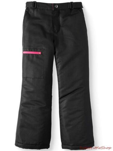 New SWISS TECH Black Insulated Ski Snow Boarding Pants Girls XS S M L
