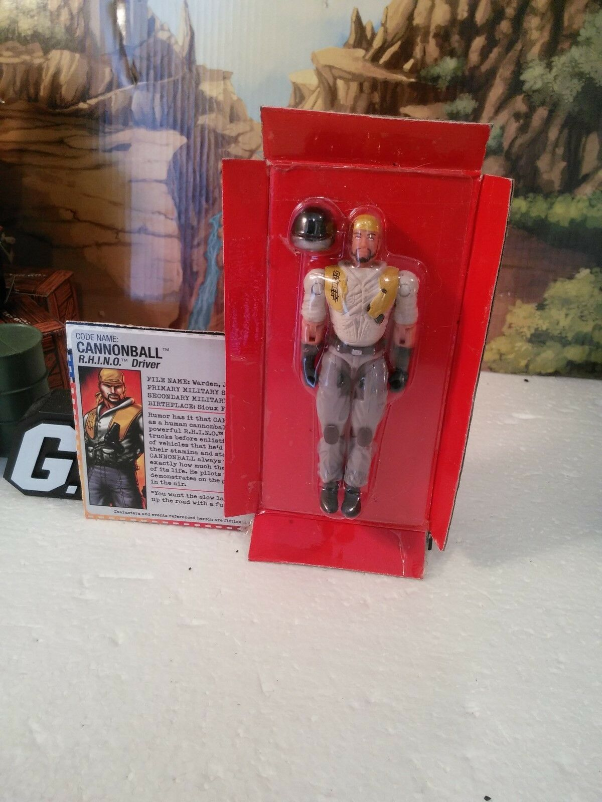Online Exclusive: 2005 R.H.I.N.O Driver: CANNONBALL (v1):100% CMP/MOC