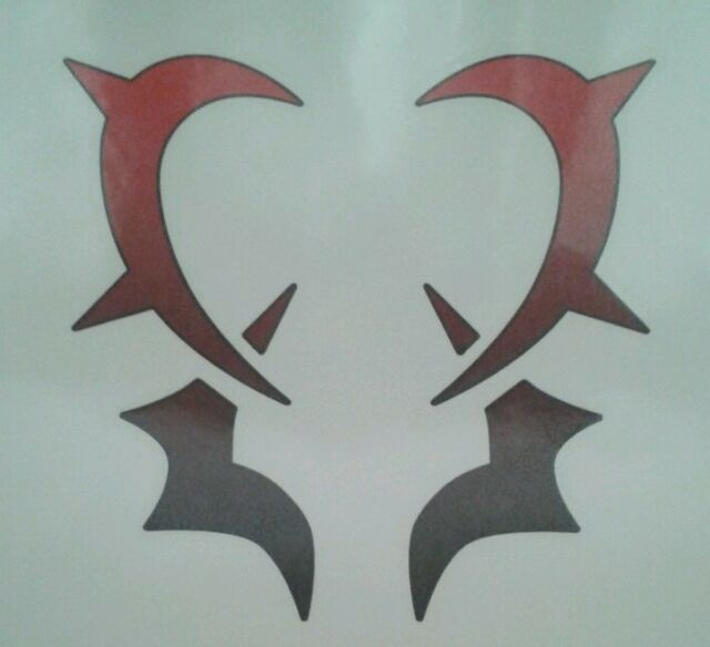 Fairy Tail Temporary Tattoo Red Adult 4 X 6 Ebay