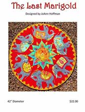 The Last Marigold Elephant India JoAnn Hoffman Applique Wall Quilt Pattern