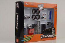 Tire Reifen Werkstatt shop Set Diorama Equipment  Zubehör 1:24 Figur Hobby Gear