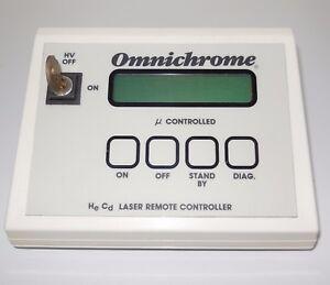 Omnichrome-He-Cd-laser-remote-controller