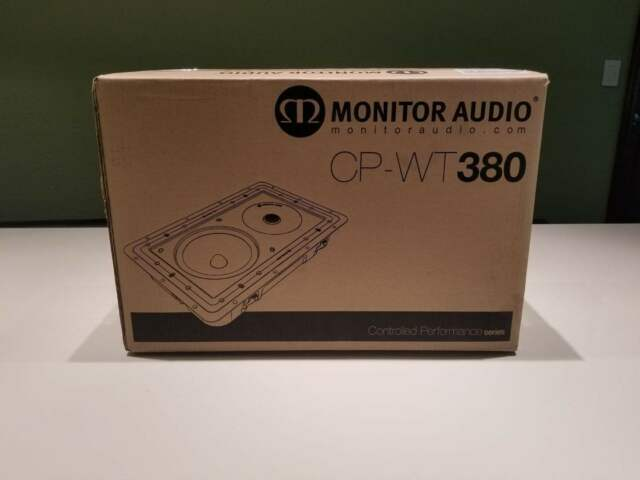 Brand New Monitor Audio CP-WT380 In-wall//in-ceiling speaker x 2 units