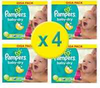 Pampers Nappies Baby Dry Size 6 Xl
