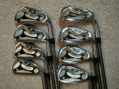 Taylor Made R7 TP irons set 4-AW Rifle Project X 6.5 STEEL NICE!  | eBay