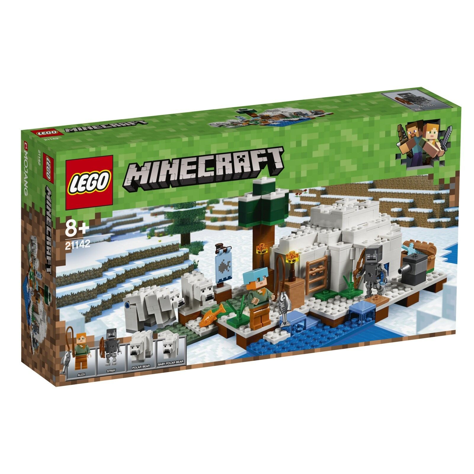 LEGO® Minecraft™ 21142 Eisiglu NEU OVP_The Polar Igloo NEW MISB NRFB