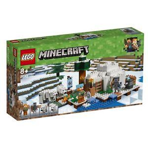 Lego® Minecraft ™ 21142 Nouvel Ovp_the Polar Igloo Nouveau Misb Nrfb