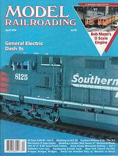 MODEL RAILROADING 4/96 BRIDGES, ACL E8, NYC FA1 FB1, BL3, D&RGW COAL, O SCALE
