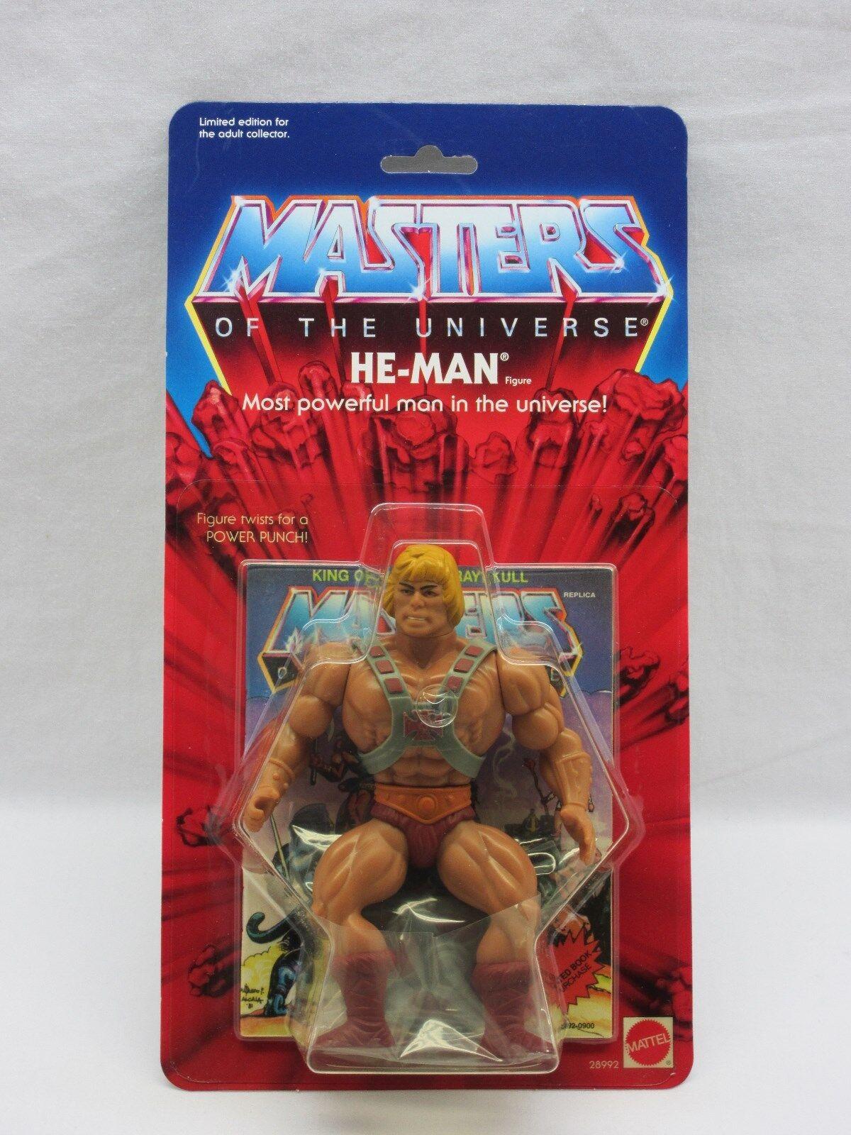 MOTU,Commemorative HE-MAN,figure,MOC,sealed,Masters of the Universe,He Man