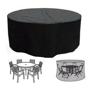 round patio set cover outdoor garden waterproof winter table chairs rh ebay co uk round patio table and chairs to seat 6 or 8 round patio table and chairs canada