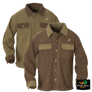 NEW-AVERY-OUTDOORS-HERITAGE-FLEECE-JAC-SHIRT-BUTTON-UP-LONG-SLEEVE