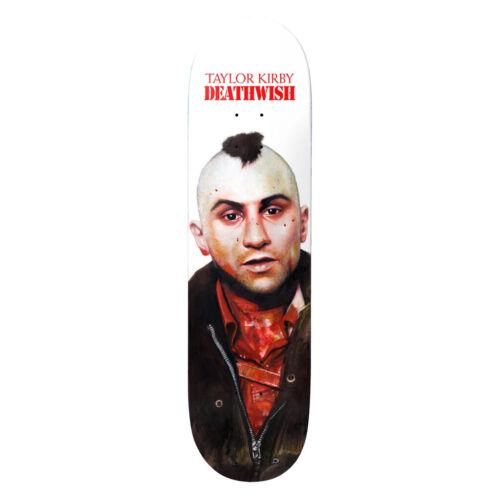 "Deathwish Skateboard Deck Taylor You Talkin 8.25/"""