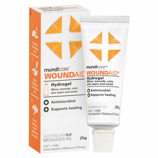 Mundicare Woundaid Hydrogel - 25g