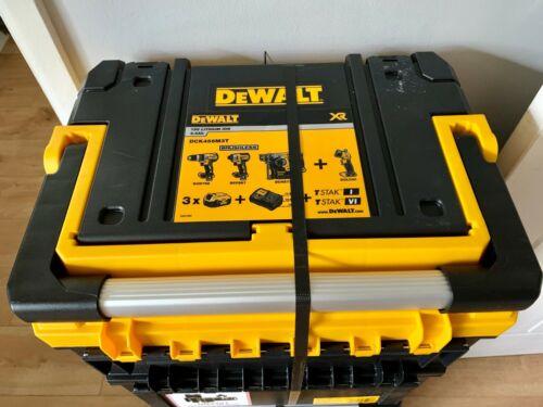 DeWALT DCK456M3T 18 V 4.0AH LI-ION XR BRUSHLESS sans fil 4 Pièces Power Tool Kit